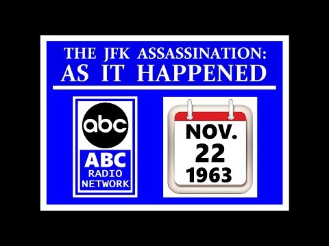 JFK'S ASSASSINATION (ABC RADIO NETWORK) (NOVEMBER 22, 1963)
