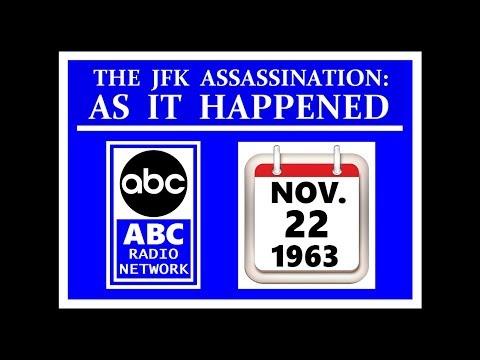 JFK'S ASSASSINATION (ABC RADIO NETWORK) (NOVEMBER 22, 1963)
