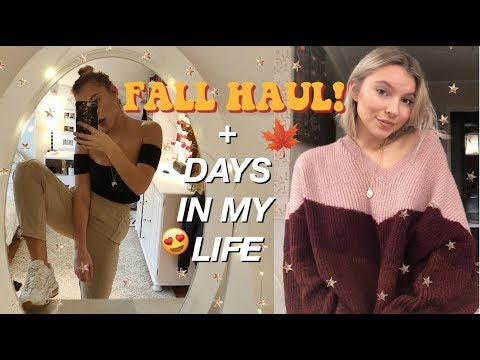 A FEW AUTUMN DAYS IN MY LIFE | TRY-ON HAUL & DRIVE WITH ME!