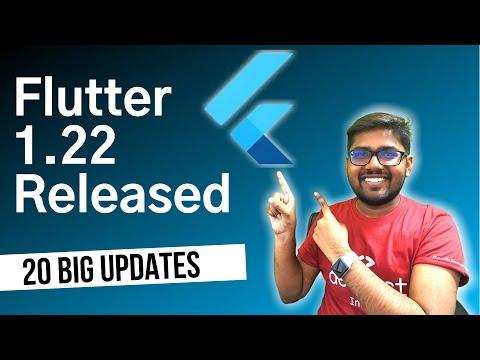 Flutter 1.22 Released   Top 20 Major Improvements