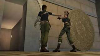 Tomb raider the angel of darkness, Lara and Kurtis