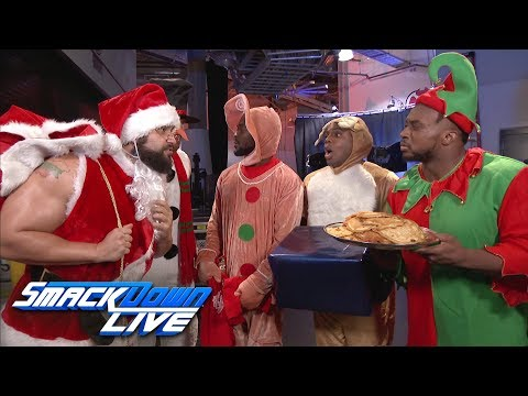 The New Day's holiday celebration is crashed by Rusev & English: SmackDown LIVE, Dec. 19, 2017