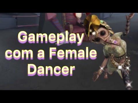Gameplay com a Female Dancer contra a Dream Witch - Identity V - Xtool Games