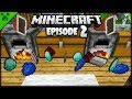 Minecraft Shields The Best Thing Ever?!   Python's World (Minecraft Survival Let's Play)   Episode 2