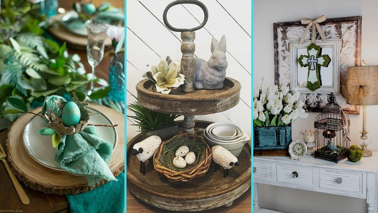Diy Shabby Chic Style Easter Table Decor Ideas Home Decor Easter Table Setting Flamingo Mango