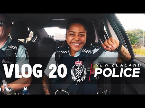 New Zealand Police Vlog 20: Joining the Police Young?