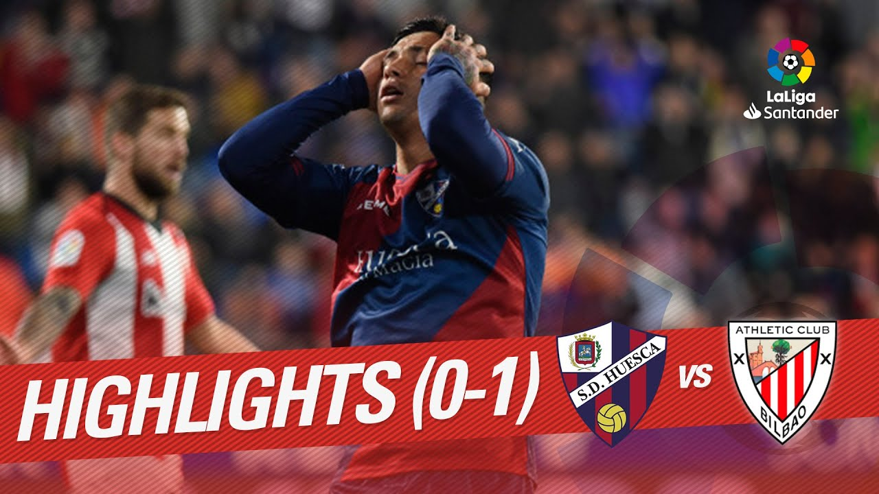 Highlights SD Huesca vs Athletic Club (0-1)