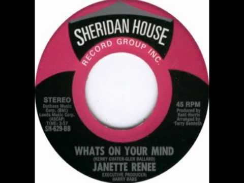 Janette Renee - Whats on your mind (Unknown release date)