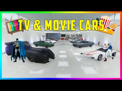 BEST MOVIE/TV CARS YOU CAN OWN IN GTA ONLINE - TOP 10 GTA ONLINE VEHICLES IN TV SHOWS & MOVIES!