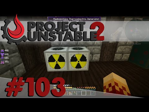 Project: Unstable [S2][#103][HD][Deutsch] IC2 Radioisotope Thermoelectric Generator