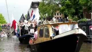Amsterdam Canal Parade 2012 - Mister B leather shop float