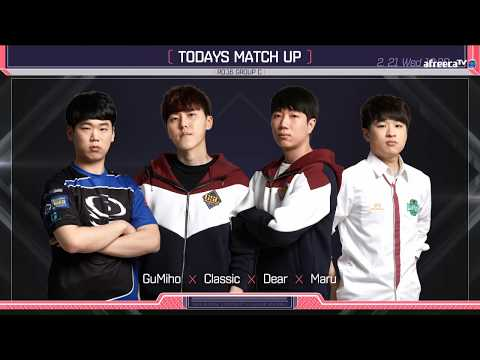 [ENG] 2018 GSL S1 Code S RO16 Group C