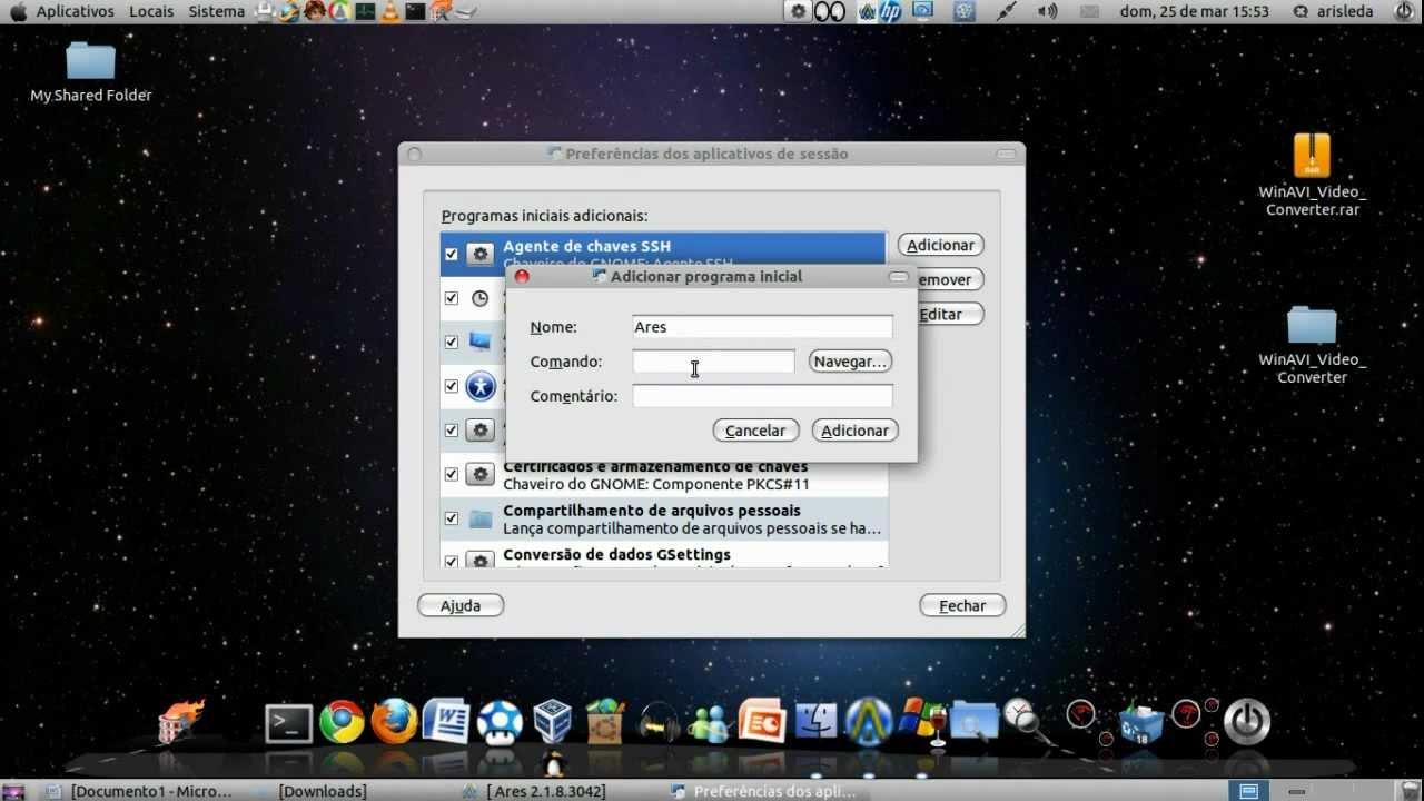ares galaxy para ubuntu