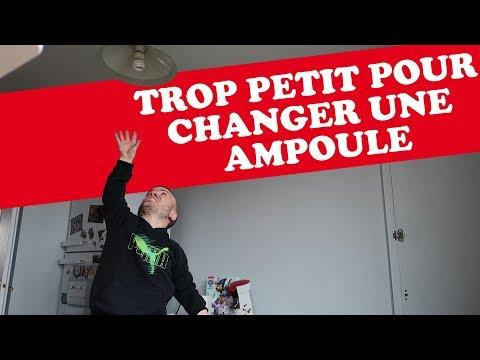 TROP PETIT POUR CHANGER UNE AMPOULE