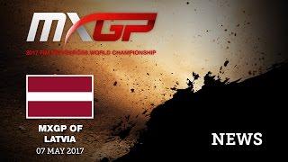 MXGP of Latvia 2017 NEWS Highlights #Motocross