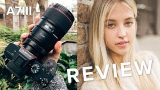 Real World Sony A7III Review with Canon Lenses