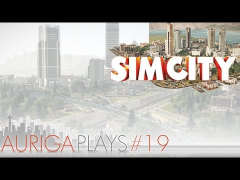 let's play SimCity : EP 19 : elevated rail track, or fun with the lower and raiser tool