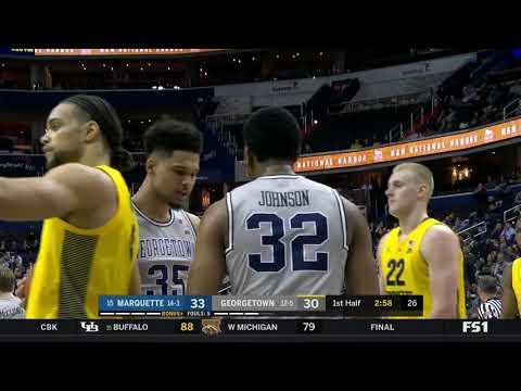 #15 Marquette vs Georgetown Highlights: #BIGEASThoops
