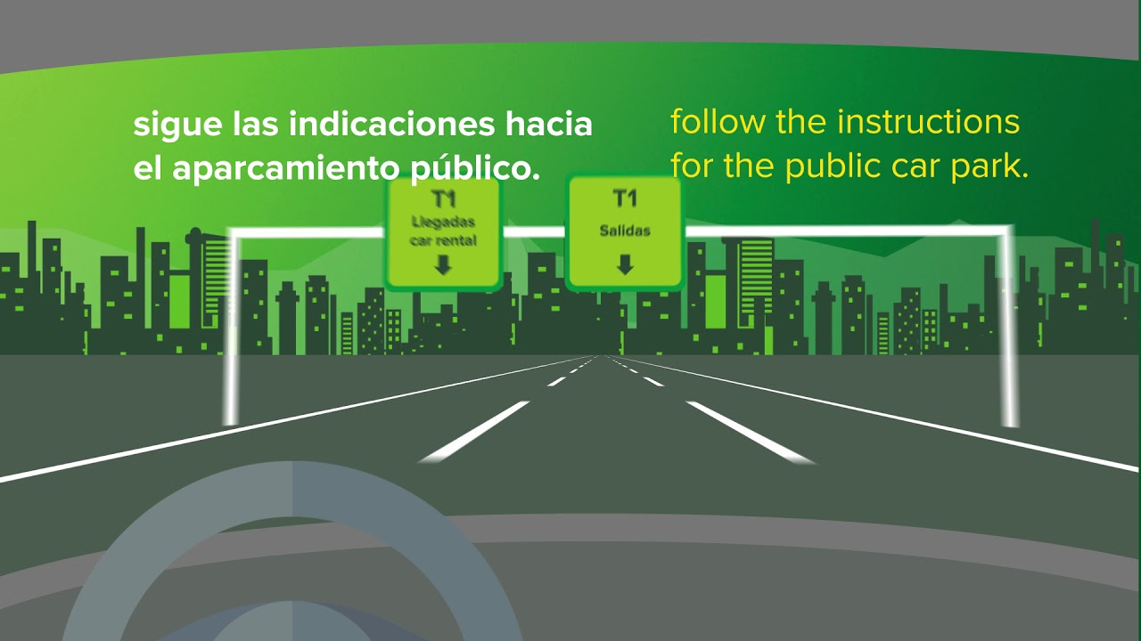 How To Get To Europcar S Car Park Of Our Madrid Terminal 1 Airport