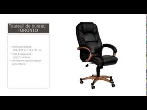 Fauteuil / chaise de bureau Toronto
