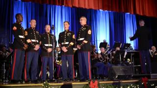 """Misty Mountains Cold"" from The Hobbit, live by the Third Marine Aircraft Wing Band"