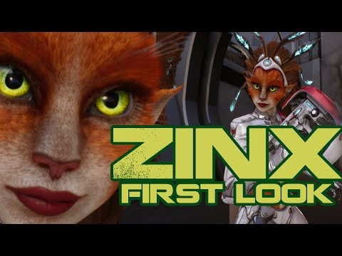 Paragon : Zinx First Look | Full Match Gameplay