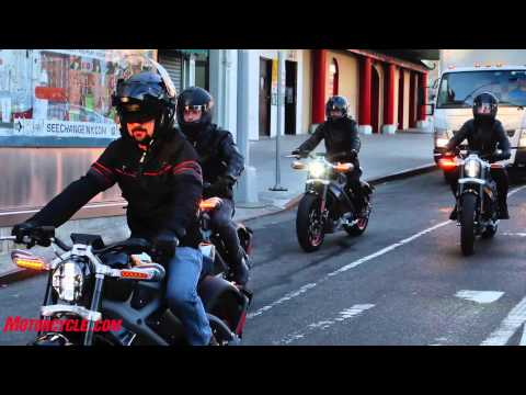 Harley Davidson Livewire NYC Launch