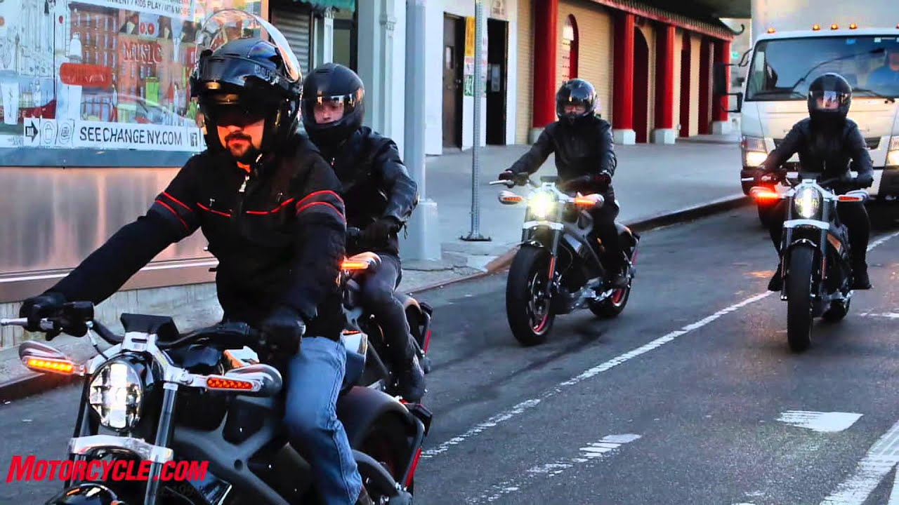 harley davidson livewire nyc launch - youtube