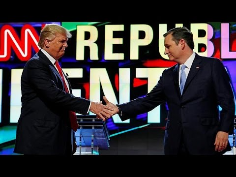 Vom Feind zum Freund: Ted Cruz unterstützt Donald Trump im Wahlkampf