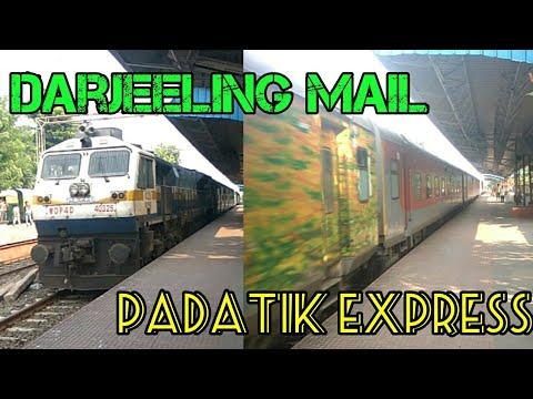 Darjeeling Mail and Padatik Express Route Diverted | Naihati Sealdah Section |