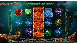 Real Money Online Slots USA - Casino Brango Hypernova EXTREME Bonus Round!