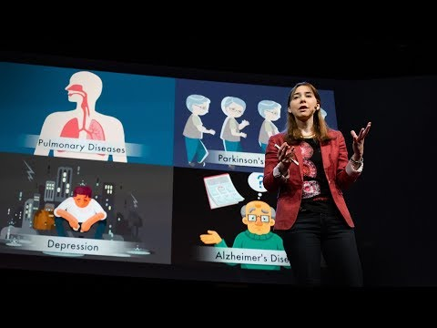 A new way to monitor vital signs (that can see through walls) | Dina Katabi - YouTube