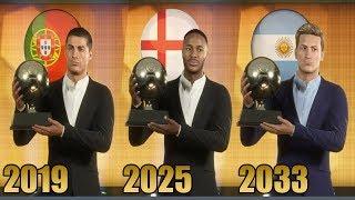 Quien Ganara Los Proximos 15 Balones De Oro  2019-2034  - Fifa 20 Modo Carrera