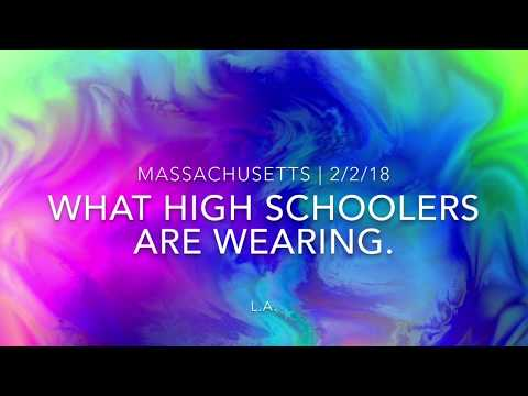 What High Schoolers in Massachusetts are actually wearing!