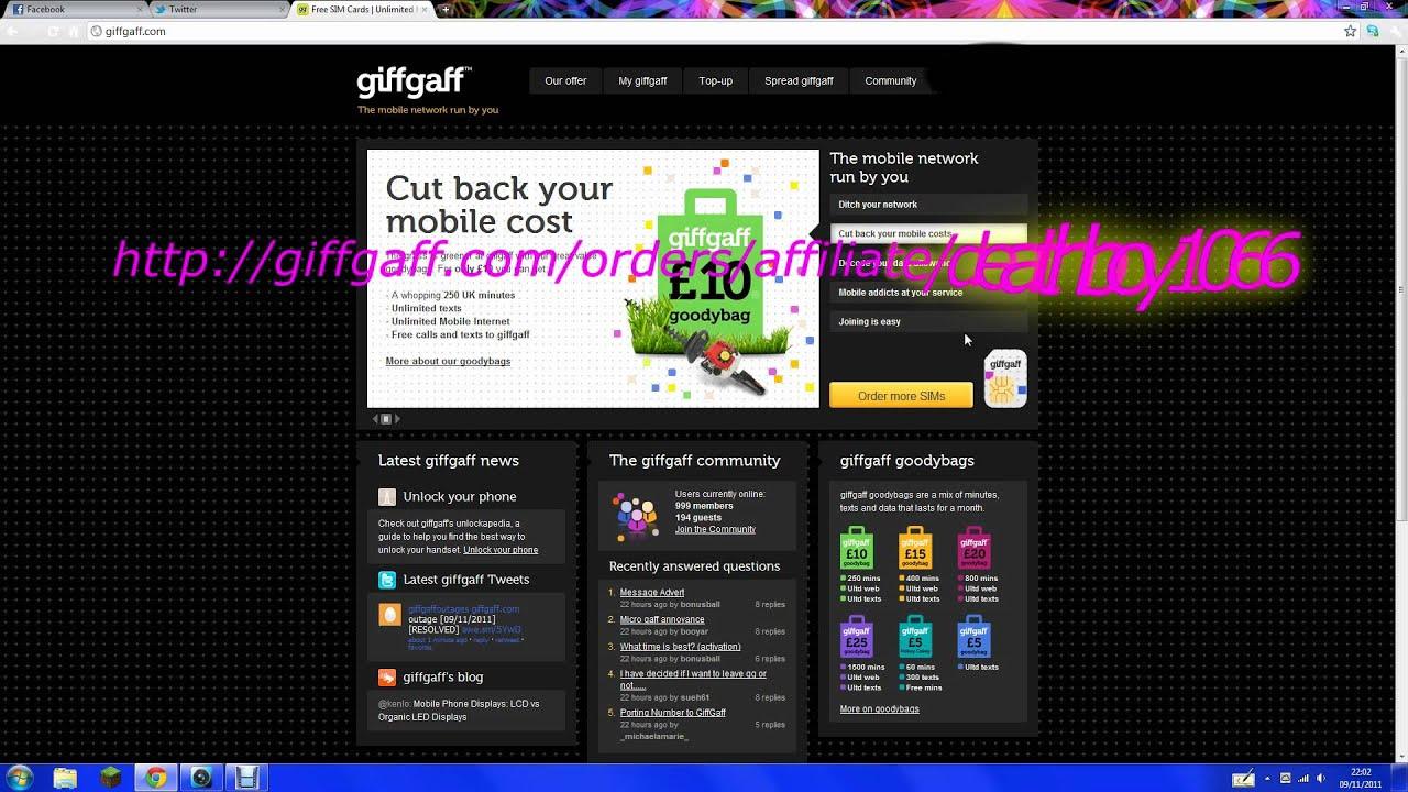 Giffgaff Youtube – Desenhos Para Colorir