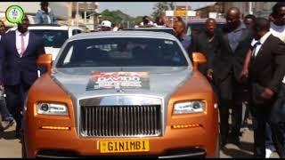 Davido, Ginimbi driving around Harare CBD #263Chat