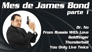 James Bond Parte 1: Dr. No, From Russia With Love, Goldfinger, Thunderball, You Only Live Twice