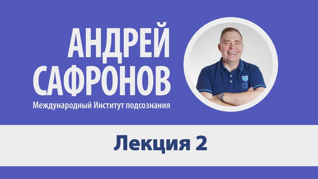 Лекция №2. Техники работы с подсознанием. Только для специалистов. Андрей Сафронов.