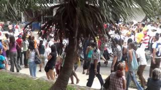 CUBA HABANA CALLE 23 FIESTA DE CALLE