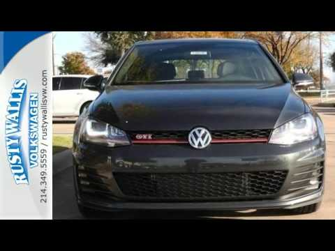 2016 Volkswagen Golf GTI Dallas TX Garland, TX #V160186 - SOLD