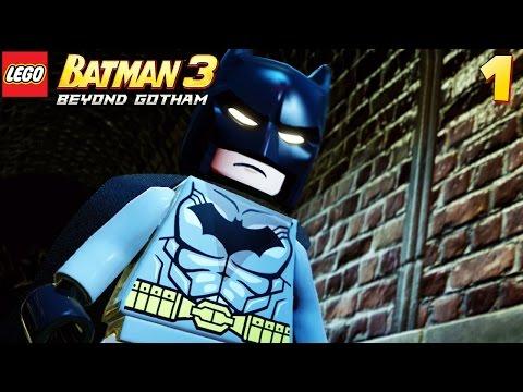 Lego Batman 3: Beyond Gotham - Walkthrough Part 1 - Killer Croc Boss Fight