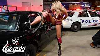 WWE Wal3ooha: اشتباك مرعب يخرج عن السيطرة بين ثلاثي الحدث الرئيسي في ريسلمانيا