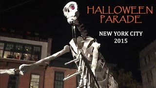 NYC Village Halloween Parade (2015): Highlights!