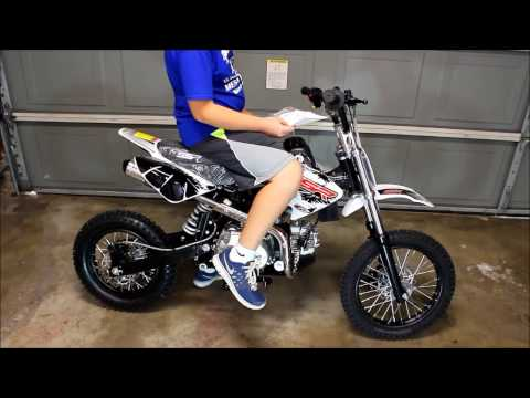 OVERVIEW OF AUTOMATIC SSR 125CC PITBIKE DIRT BIKE
