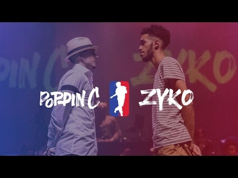 POPPIN C vs ZYKO | I LOVE THIS DANCE ALL STAR GAME 2016