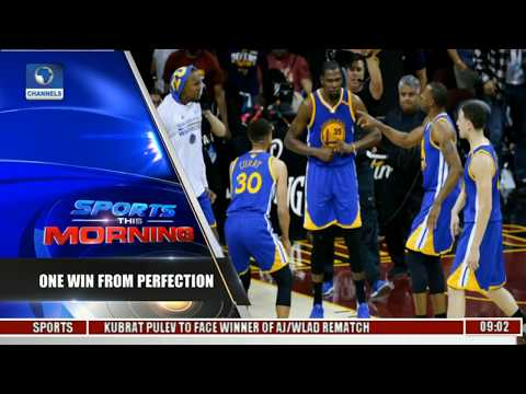 Sports This Morning: Warriors Take Commanding 3-0 NBA Finals Lead Series Pt 1