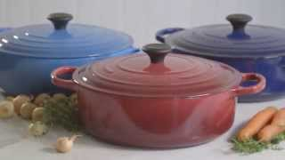 Le Creuset® Signature Round Wide French Ovens, 6¾ qt.