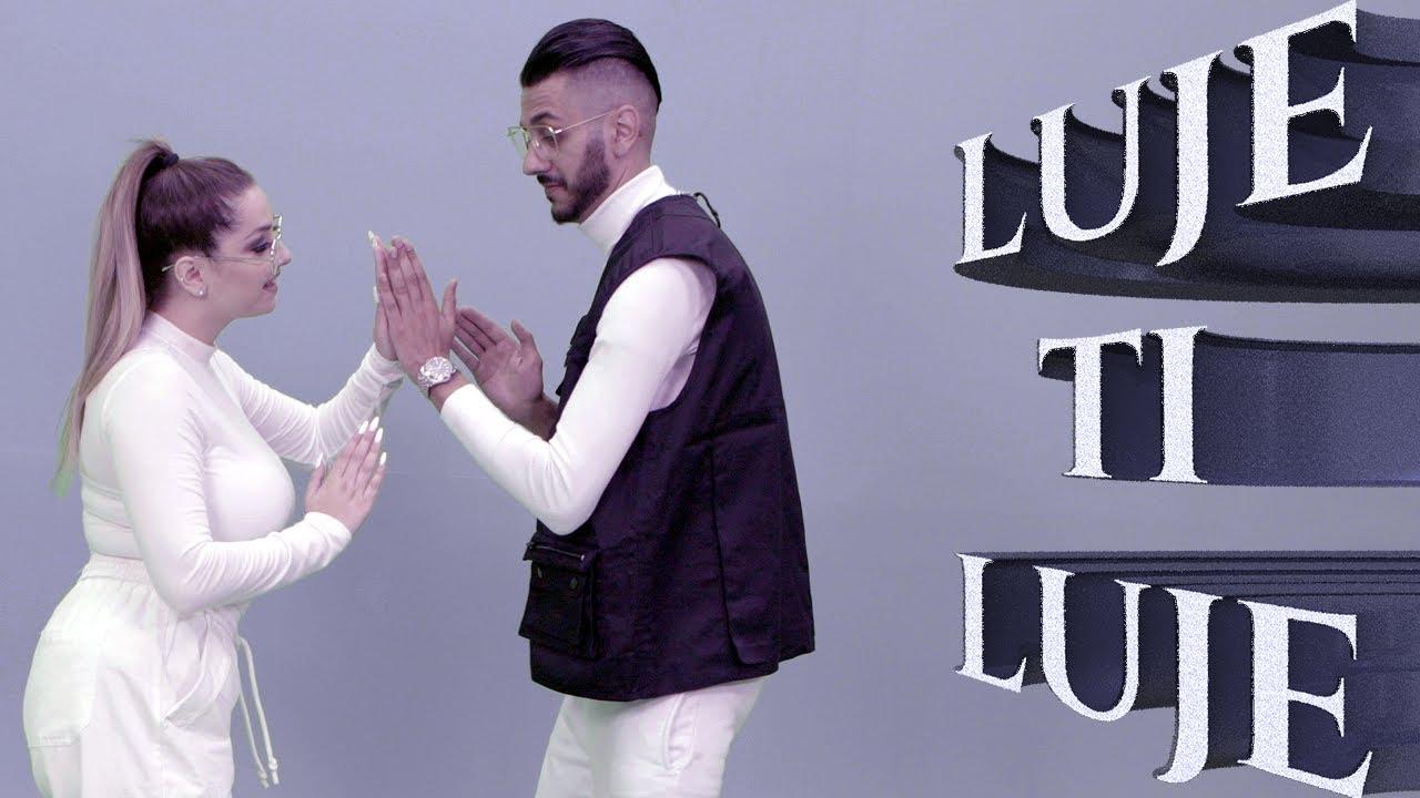 Emina Fazlija & Edison Fazlija - LUJE TI LUJE (Official Video 4K) prod.by Edison Fazlija