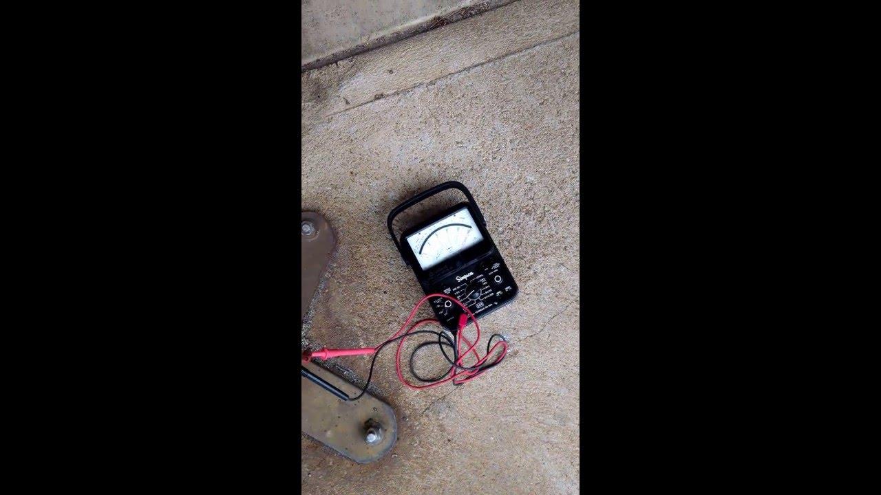 Redneck one wire alternator test