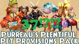 Opening 37 Purreau's Plentiful Pet Provisions Packs